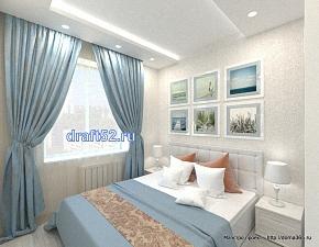 дизайн спальнт