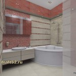 интерьер ванной
